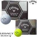 在庫処分 キャロウェイ ゴルフボール レガシー ブラック 1ダース 12P 2015 callaway LEGACY BLACK 【あす楽対応】