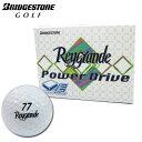 在庫処分 ブリヂストン レイグランデ パワードライブ ゴルフボール 1ダース 12球入 ホワイト Reygrande POWER DRIVE 【あす楽対応】