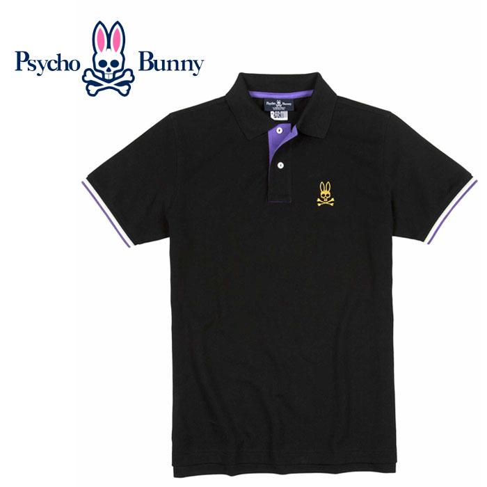 スーパーSALE ポイント最大35倍(6/17(土)19:00~) 【USA直行便】 PSYCHO BUNNY (サイコバニー)   ポロシャツ St Lucia Polo B6K401S7PC