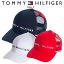 【あす楽対応】トミーヒルフィガー ゴルフウェア メッシュキャップ THMB805F 2018春夏
