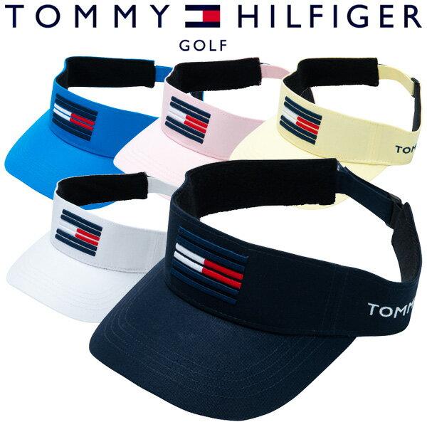 【あす楽対応】トミーヒルフィガー ゴルフウェア バイザー THMB900F 2019春夏