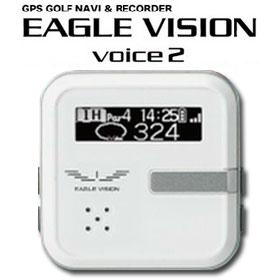 GPSゴルフナビ イーグルビジョン ボイス 2 EV-302 音声案内 【あす楽対応 即納】 【送料無料】