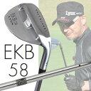 ◇≪マーク金井氏 設計・監修≫ Lynx Golf リンクス EKB 58 ウェッジ <バンカー専用> LYNXオリジナルスチール