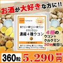 【ポイント5倍】【送料無料】【あす楽対応】クルクミン50mm...