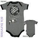 ベビー服【ロンパース】ボールんチェーン 【SIX・BUNNIES】ロック パンク どくろ 出産祝い 男の子 女の子