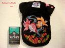 ≪犬用刺繍Tシャツ≫ 3S(SSS/XXS)【桜と金魚】和柄・犬 服・犬 洋服