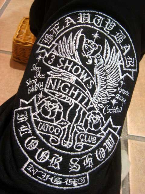 ≪犬用刺繍Tシャツ≫ XS(SS/2S)【タト...の紹介画像3