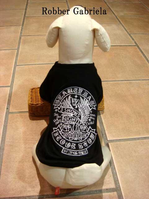 ≪犬用刺繍Tシャツ≫ XS(SS/2S)【タト...の紹介画像2