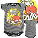 ベビー服【ロンパース】デビル・ベイビー /レッドデビル 【SIX・BUNNIES】出産祝い 男の子 女の子