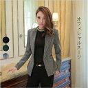 【限定価格】選べる3色 パンツスーツ2点セット ジャケット ...