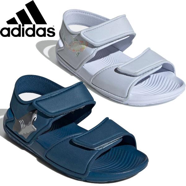 ◆◆ <アディダス> adidas 2018春夏 キッズ ジュニア サンダル(altaswimc-mkn-ads2)