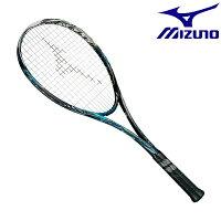 ◆◆ <ミズノ> MIZUNO スカッド05-R(ソフトテニス) 63JTN955 (24:ソリッドブラック×ナイルブルー) テニスの画像