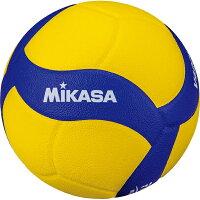 ◆◆ <ミカサ> MIKASA バレーボール V420WL (ブルー/イエロー)の画像