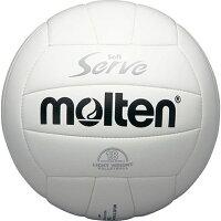◆◆ <モルテン> MOLTEN ソフトサーブ 軽量 EV4W (白) (バレーボール)の画像
