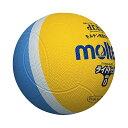 ◆◆ <モルテン> MOLTEN ライトドッジボール SLD0LSK (黄×サックス) (ドッジボール)