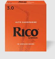 D'AddarioWoodwinds/RICOリコアルトサックス用リード(10枚入り)【ダダリオウッドウィンズ/リコ】