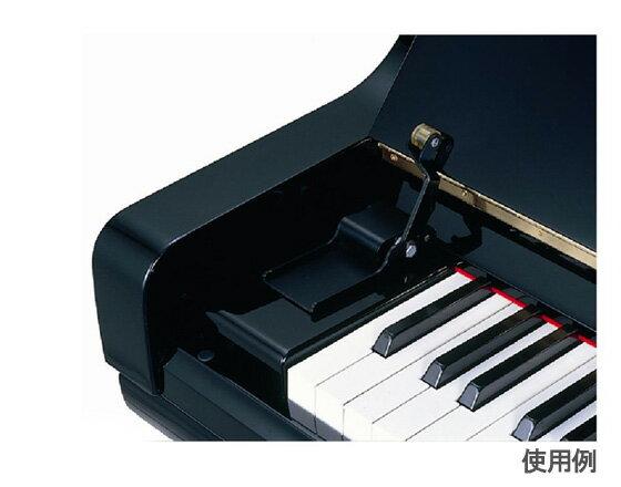 ピアノ鍵盤蓋から指づめ防止!FINGUARD フィンガード 【鍵盤蓋開閉補助具・UP専用/…...:gakki-genki:10008161