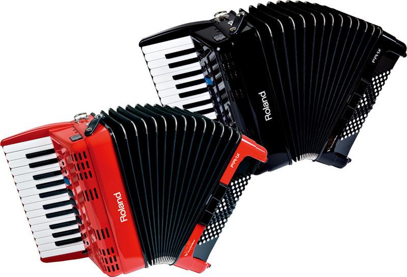 Roland/Vアコーディオン FR-1X(ピアノ鍵盤タイプ)【ローランド/V-Accordion】