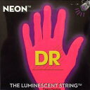 DR/NEON Guitar String Neon Red DR-NRE エレキギターネオン弦