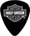 HARLEY-DAVIDSON/ピック BLACK TORTEX