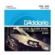 D'addario/バンジョー弦/EJ60 Light/Nickel 5-string【ダダリオ】【メール便OK】