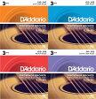 D'addario/アコースティック弦 Phosphor Bronze 3セットパック【ダダリオ/EJ15-3D・EJ16-3D・EJ17-3D・EJ26-3D】【メール便OK】