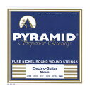 PYRAMID/エレキ弦 Pure Nickel Round Wound Strings【ピラミッド】