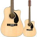 Fender/12弦エレアコ CD-60SCE Dreadnought 12-string