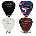 Fender/ピック 351 Shape Classic Picks Heavy 10枚【フェンダー】【メール便発送代引