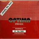 【メール便可】[OPTIMA]オプティマ マンドラ弦 レッド セット弦 8本入り