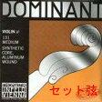 【メール便可】Thomastik Infeld Dominant ドミナント バイオリン弦 セット [4/4〜1/16]