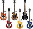アンプ内蔵 ミニ ギター PGG-200 ピグノーズ スピーカー搭載 エレキギター ケース付き 持ち運び おすすめ カラー ブラック サンバースト(ブラウン) オレンジ ブルー レッド等 Pignose mini guitar PGG200 トラベルギター 電池駆動 ヘッドフォンOK