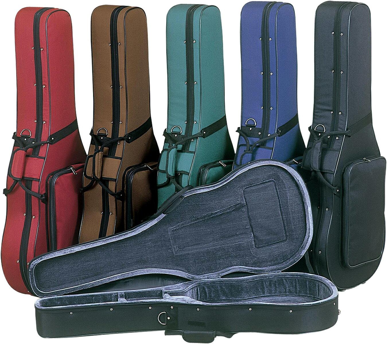 クラシックギターセミハードケースリュックタイプストラップ付き型抜きおすすめ楽器カバー軽量おすすめギタ