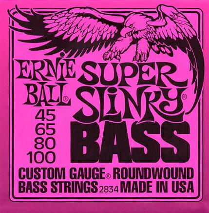 [ メール便 対応可 ] ERNIE BALL 45-100 ベース弦 2834 ピンクパ…...:gakkiwatanabe:10000218