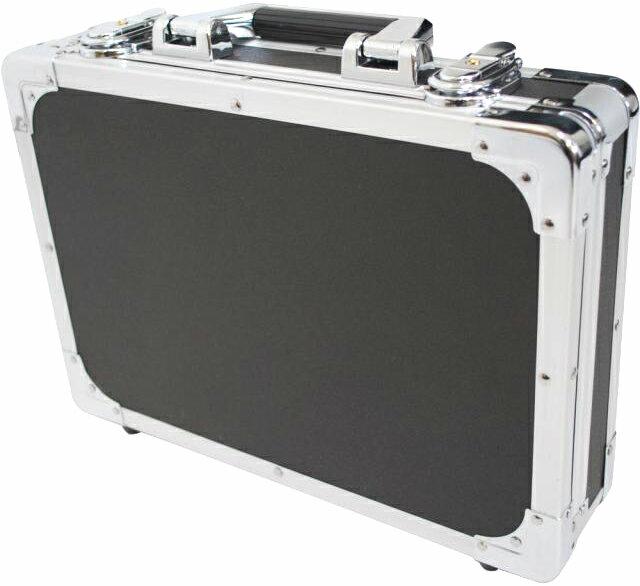 エフェクターケースSサイズ蓋と分かれるセパレートタイプ箱形ハードケースカラーブラックBKエフェクター