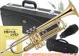 2種類の ケースが付いた! トランペット 新品 TR-200 サイレンサー セット 初心者 おすすめ 楽器 本体 ゴールド 送料無料 (条件付) Jマイケル 楽器 教本 ハードケース ソフトケース 運指表 マウスピース付き J.Michael TR200 Trumpet 吹き方 練習用 管楽器