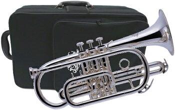 【豪華入門9点セット】【代引き以外送料無料】JマイケルコルネットCT-470Scornetシルバーメッキブラバンバッグ(ケース)付きCT470S金管楽器ギフトにもJMichael中古ではないオーケストラB♭管J.Michael