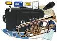 コルネット サイレンサー付き セット CT-420 新品 Jマイケル ゴールド 送料無料 本体 ケース マウスピース 運指表付き 初心者 吹奏楽 オーケストラ 練習 金管楽器 J.Michael CT420 cornet トランペット 持ち替え 雑誌掲載品 おすすめ