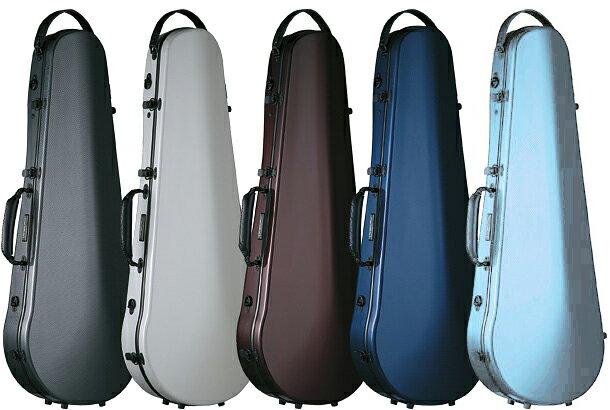 ビオラケース 約2kg リュック可能 4/4サイズ カーボンファイバー製 ハードケース カラー グレー ホワイト レッド ブルー 水色 viola cases 軽量 ビオラ用 ケース