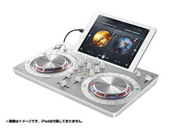 Pioneer(�ѥ����˥�)DDJ-WeGO3-W�ڥۥ磻�ȡۢ���PCDJ�ۡ�DJ����ȥ?�顼�ۡ�iPhoneiPad��