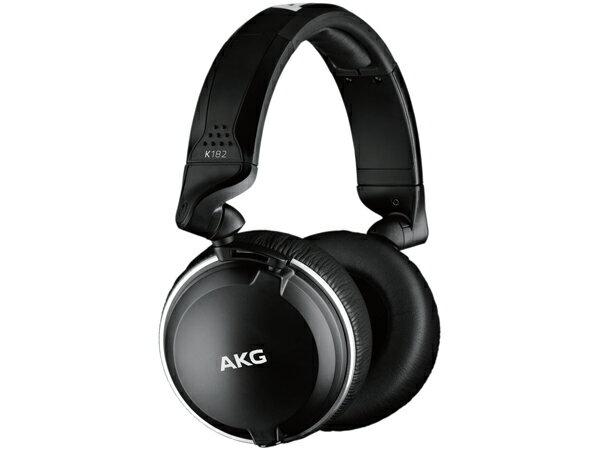 AKG ( エーケージー ) K182 ◆ 密閉ダイナミック型 ヘッドホン 【国内正規品】 モニター