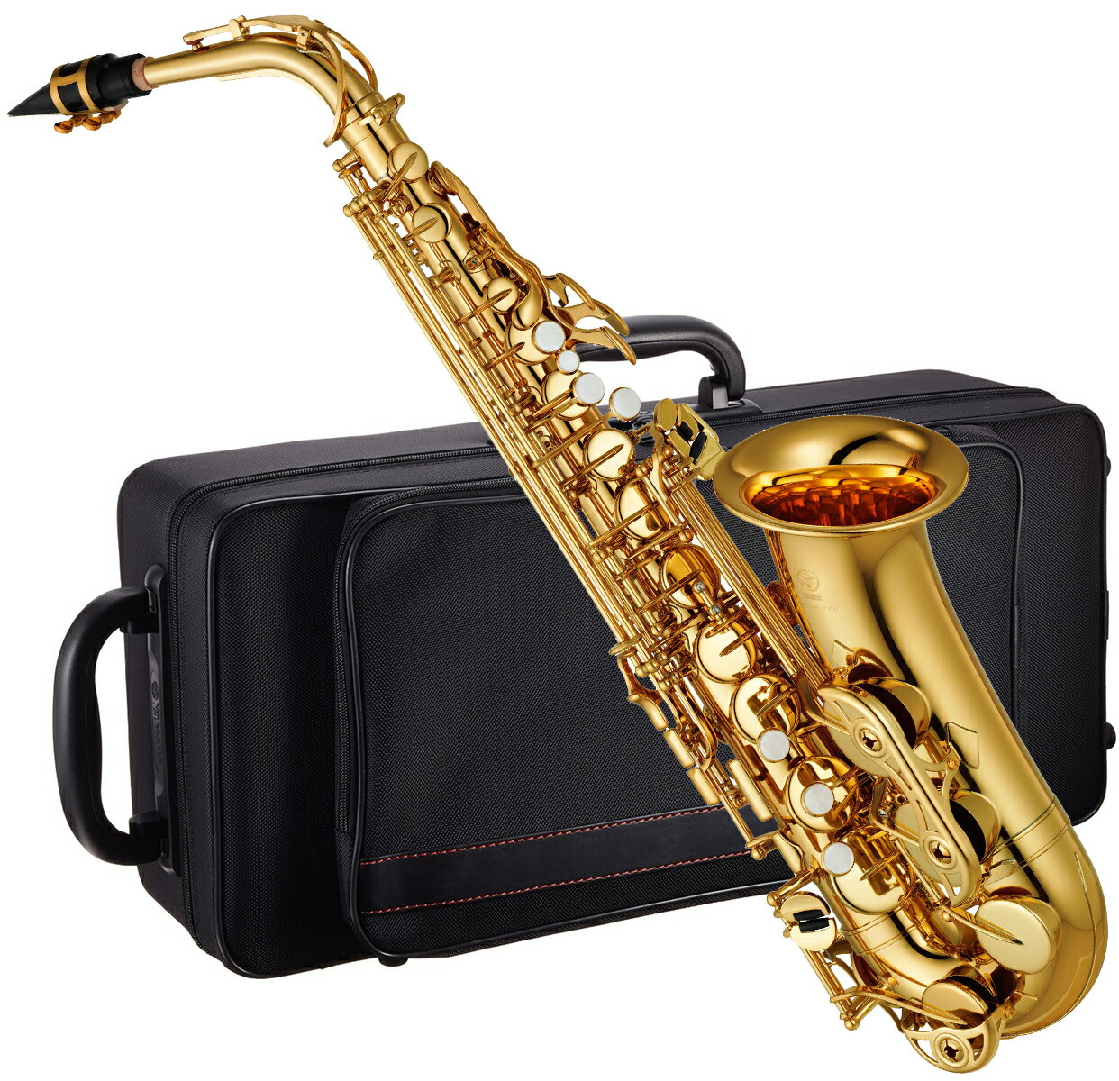 この価格在庫限りYAMAHA(ヤマハ)YAS-380アルトサックス新品管楽器ゴールド管体ネックE♭本