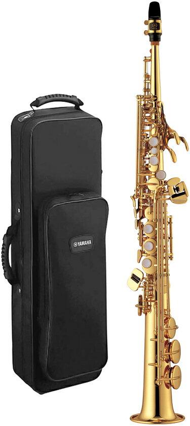 YAMAHA(ヤマハ)YSS-475ソプラノサクソフォン新品日本製管楽器サックス本体ストレートネック