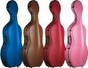 送料無料 4/4サイズ チェロケース CFC-3R 軽量 約3.8kg カーボンファイバー製 リュック タイプ 弦楽器 カラー チェロ ハードケース