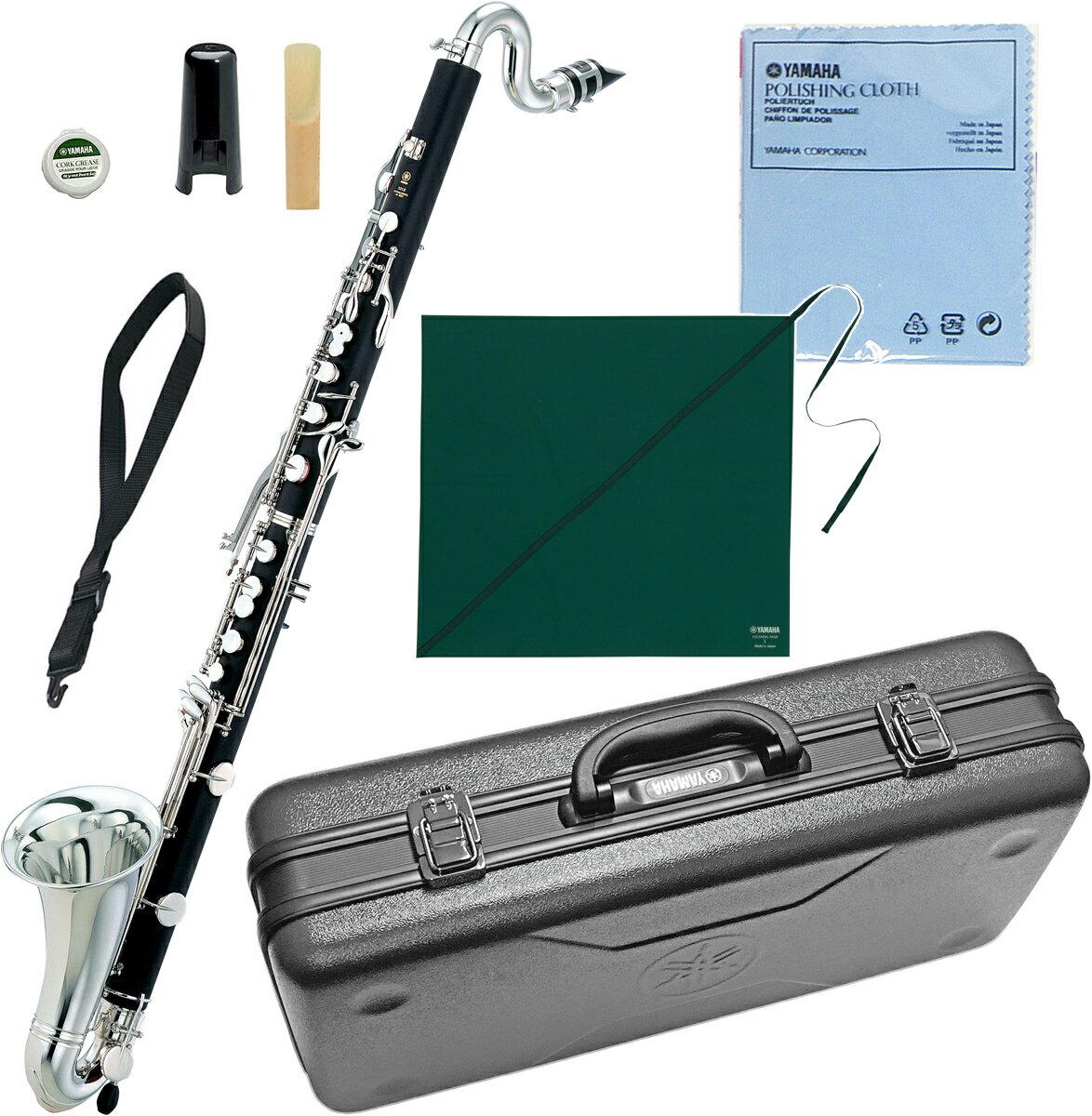 YAMAHA(ヤマハ)送料無料B♭バスクラリネットYCL-221II新品管体ABS樹脂楽器LowE♭