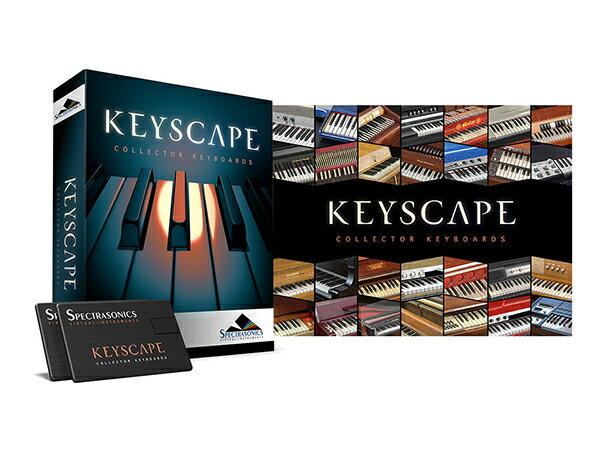SpectrasonicsKeyscape(USBDrive)3KSCP本数限定特価送料無料音源ソフ
