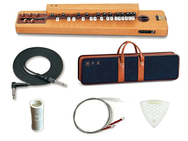 SUZUKI(スズキ)弁慶(べんけい)大正琴電気大正琴箱型和楽器エレアコタイプ/5絃