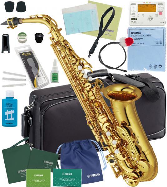 YAMAHA(ヤマハ)WEB価格YAS-62アルトサックス新品日本製管楽器サックス管体ゴールド初心者