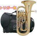 PRESON ( プレソン ) PR3300GL 新品 ユーフォニアム ゴールド B♭ 4ピストン コンペンセイティングシステム トリガー搭載 管楽器 管体 イエローブラスベル ユーフォ 送料無料(沖縄/離島不可)