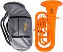 【予約】 Tiger ( タイガー ) ユーフォニアム EU-11 オレンジ 調整品 新品 アウトレット 4ピストン プラスチック製 B♭ 本体 管楽器 樹脂製 【 EU11 orange 楽器 】 送料無料 (一部例外地域あり)